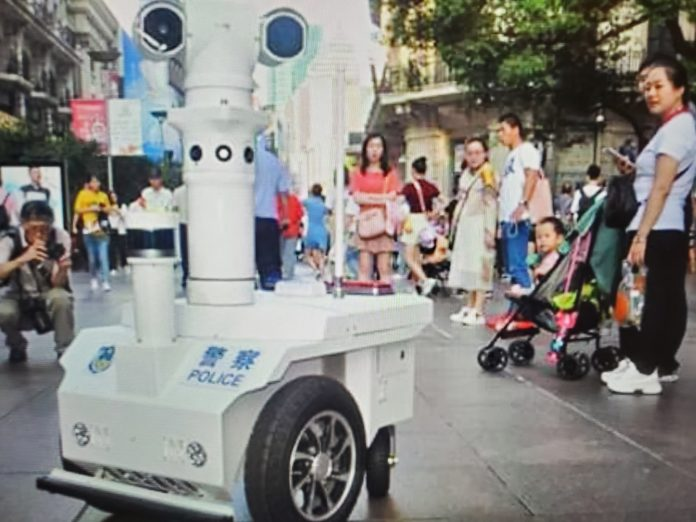 Robot Deployed in Citizens China
